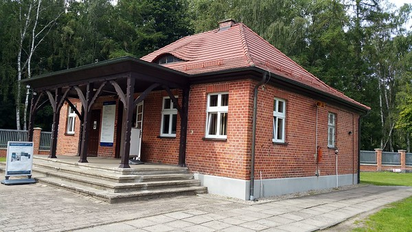 Now used as an information centre and a place to buy books on Stutthof.
