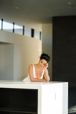 editorial bridal fashion / modern architecture / Kristen Kay Photography