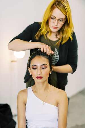 LAS VEGAS HAIRSTYLIST - Ruby Finch - Las Vegas hair and makeup artists - smokey eyeshadow for wedding or everyday - Kristen Kay Photography - Las Vegas Wedding Photographer