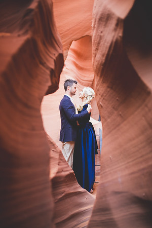 Antelope & Lake Powell - Engagement