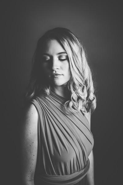 Green Dress 002bw - Nicole Marie Photography