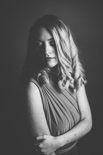 Green Dress 003bw - Nicole Marie Photography