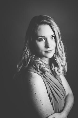 Green Dress 007bw - Nicole Marie Photography