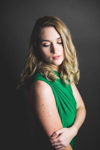 Green Dress 004 - Nicole Marie Photography