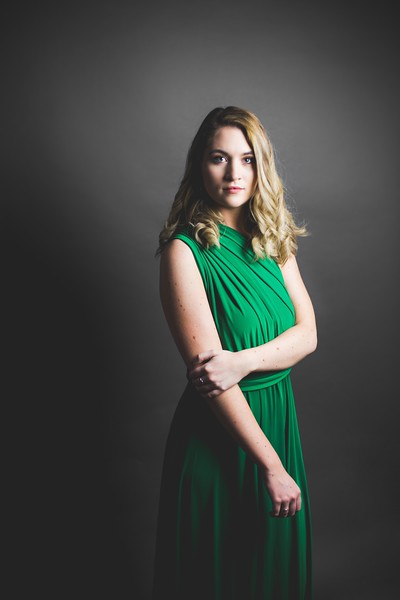 Green Dress 009 - Nicole Marie Photography