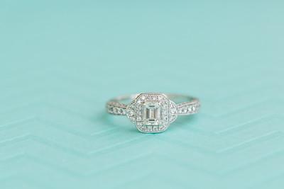 Nikki & Matthew Wedding Rings