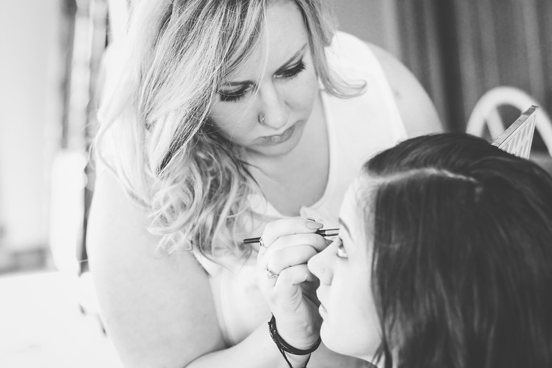 Summit Bridal 04bw | Nicole Marie Photography