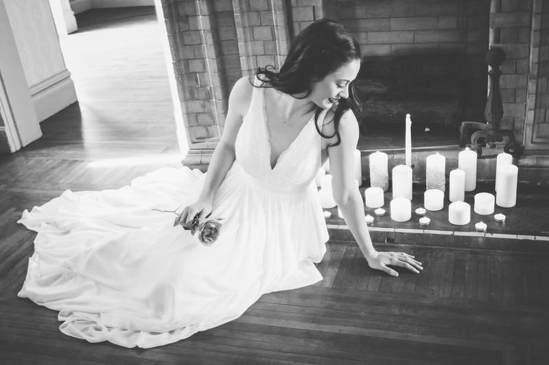 Summit Bridal 11bw | Nicole Marie Photography