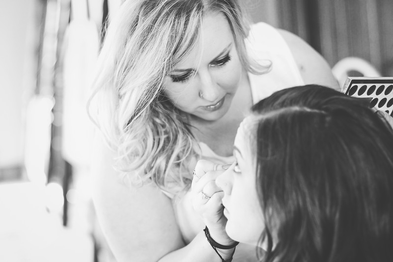 Summit Bridal 03bw | Nicole Marie Photography