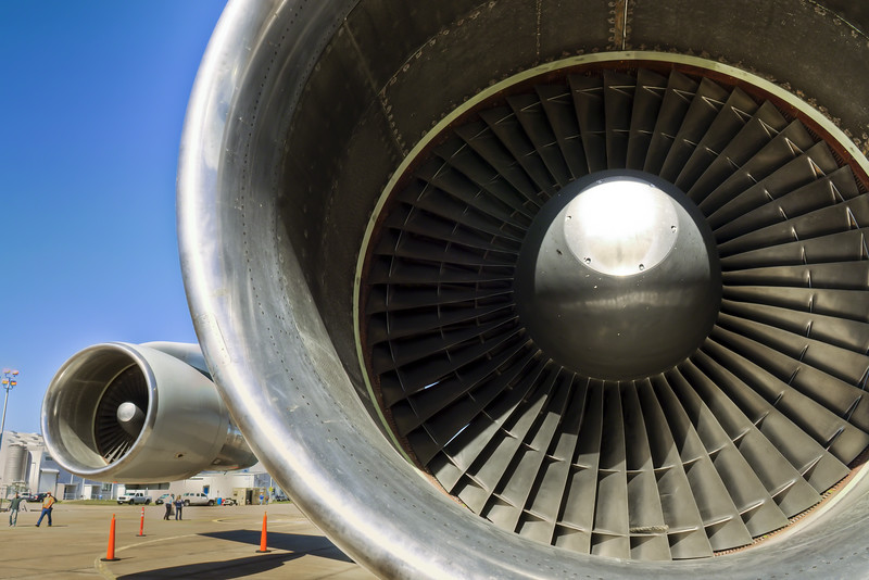747 Jet Engines