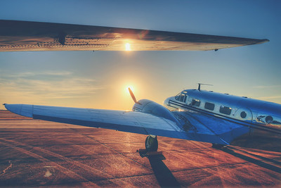 Glistening Aircraft