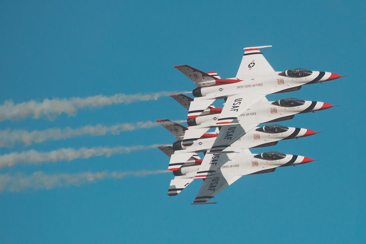 Thunderbirds in Formation