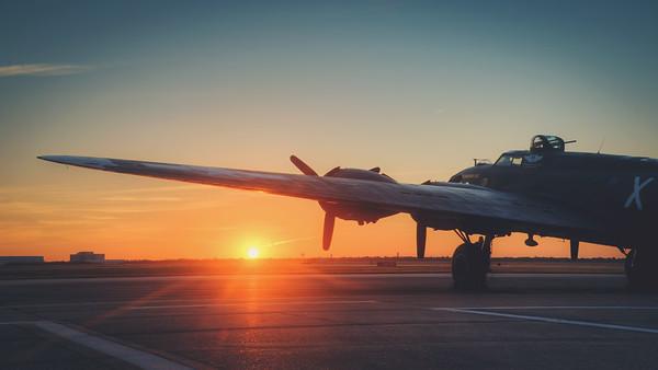 Sunrise at Ellington.