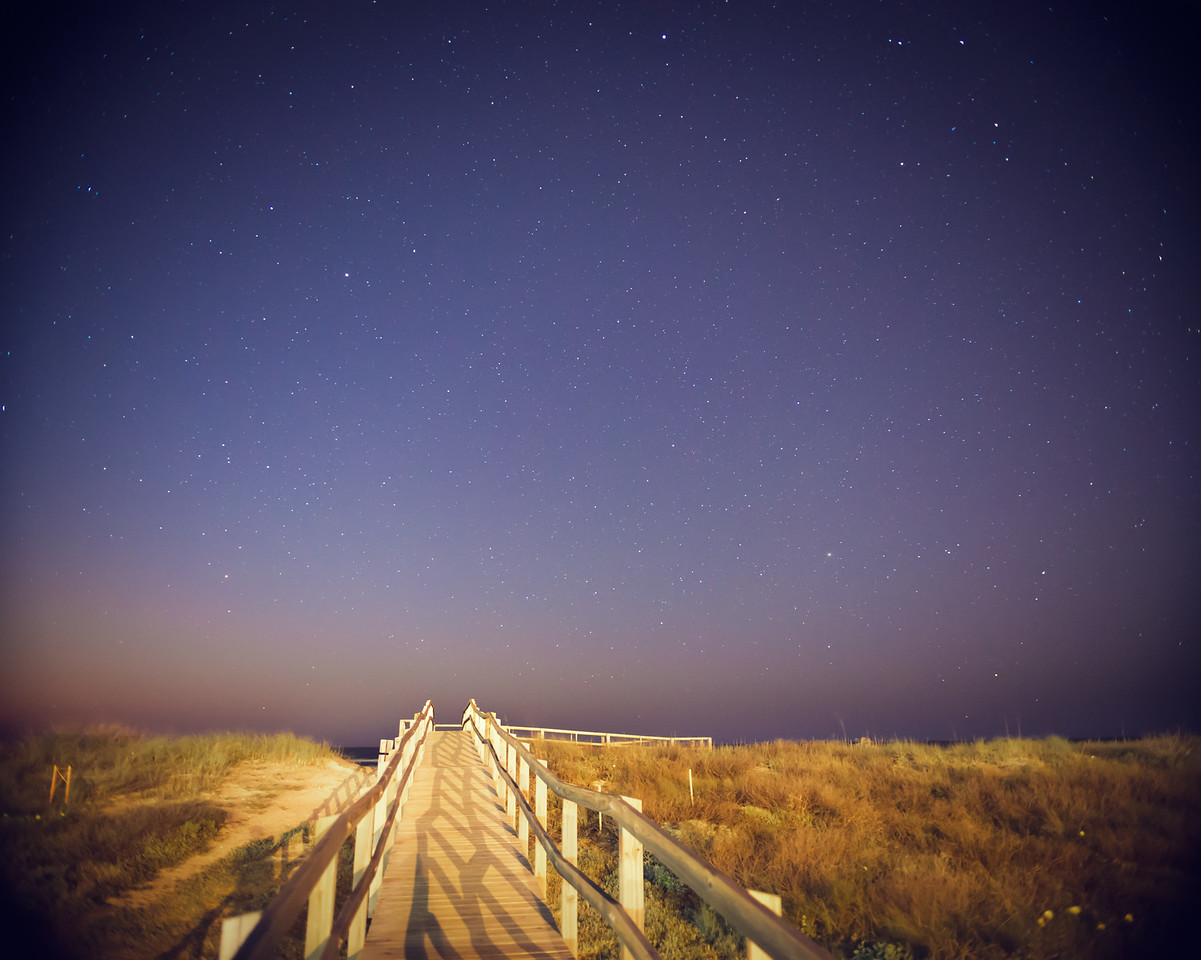 Galveston Night Sky