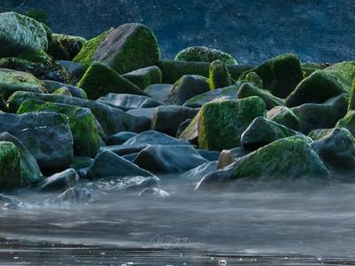 Talacre rocks