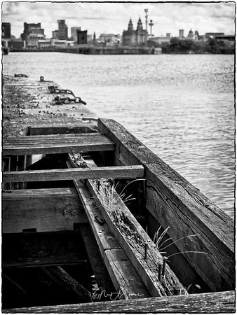 Decayed landing stage