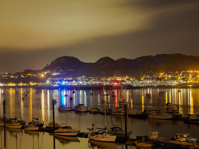 Reflections of Deganwy Quay
