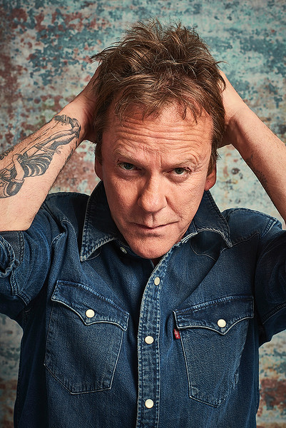 Kiefer Sutherland by Dean Chalkley
