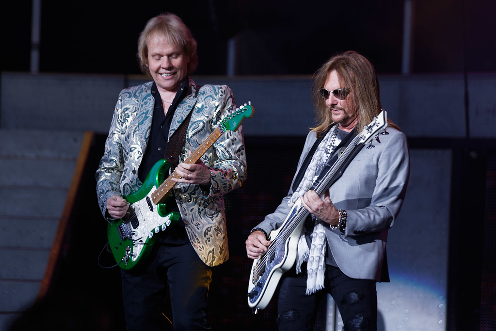 . Styx  live at DTE Music Theatre on 7-25-2017. Photo credit: Ken Settle