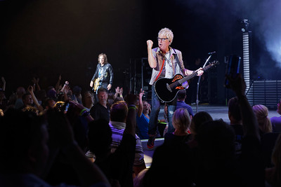 REO Speedwagon live at DTE on 7-25-2017. Photo credit: Ken Settle