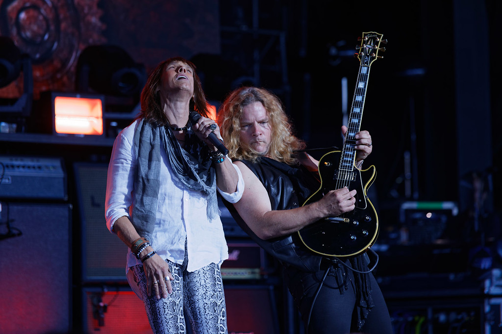 . Tesla  live at DTE on 7-6-2018. Photo credit: Ken Settle