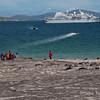 Le-Diamant-zodiac-shuttle,-Sanders-Island,-Falkland-Islands