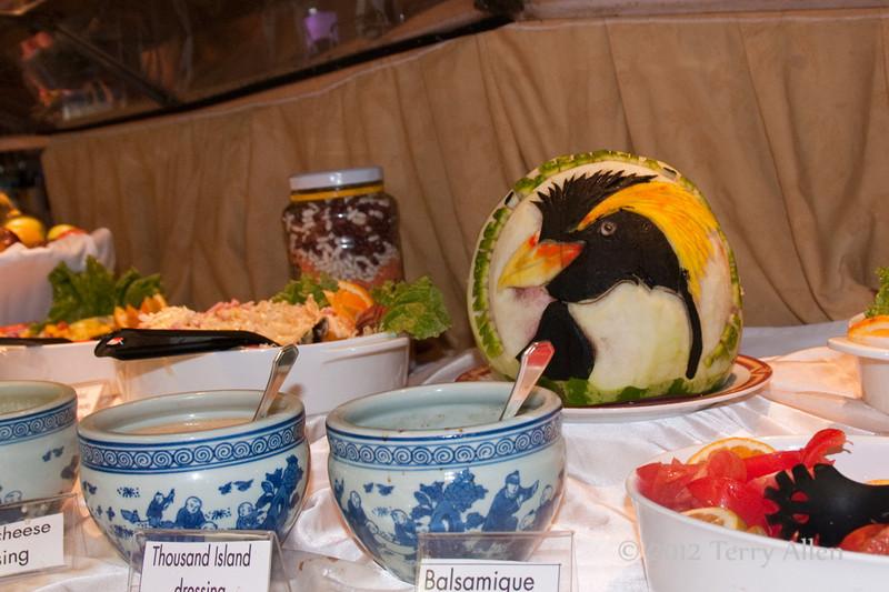 Watermelon-penguin