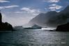 Icebergs-&-mountains,-Elephant-Island,-South-Shetland-Islands