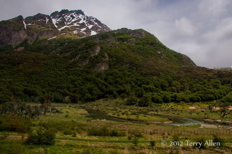 Ushuaia landscape