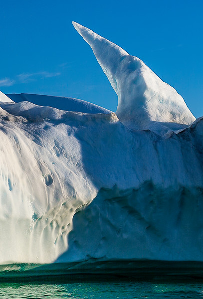 Iceberg detail- sculpted by the elements