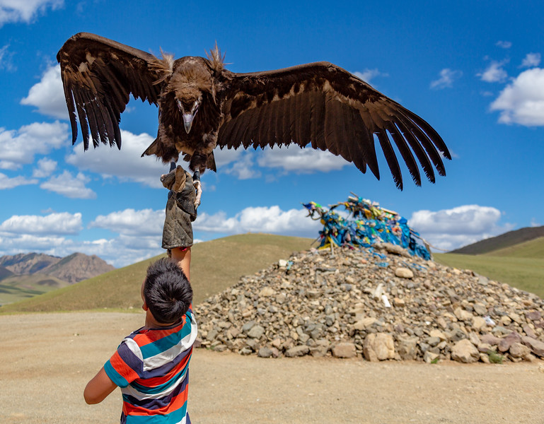 Boy with Golden Eagle