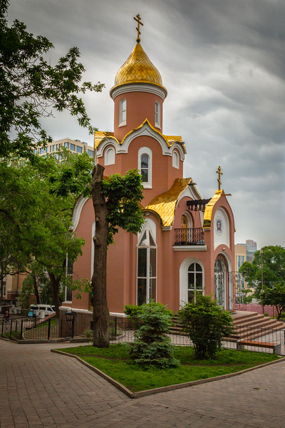 Small Russian Orthodox Church