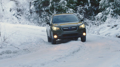 2018 Subaru Outback Touring Driving Reel
