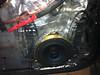Factory speaker.  Dynamat installed