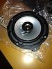 """Aftermarket speaker mounted to speaker adapter brackets  from  <a href=""""http://www.car-speaker-adapters.com/items.php?id=SAK026""""> Car-Speaker-Adapters.com</a>"""