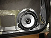 "Aftermarket speaker and speaker adapter brackets  from  <a href=""http://www.car-speaker-adapters.com/items.php?id=SAK026""> Car-Speaker-Adapters.com</a>   mounted to door"