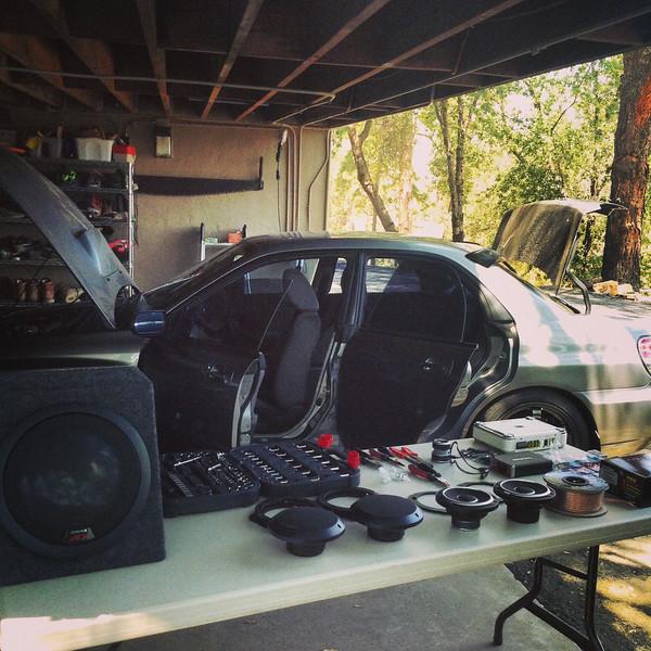 Supplies needed for speaker installation