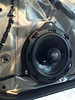 "Aftermarket speaker and speaker adapter ring   from  <a href=""http://www.car-speaker-adapters.com/items.php?id=SAK026""> Car-Speaker-Adapters.com</a>   installed on door"