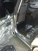 Door panel and factory speaker removed from door