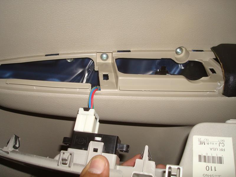 Removing control panel
