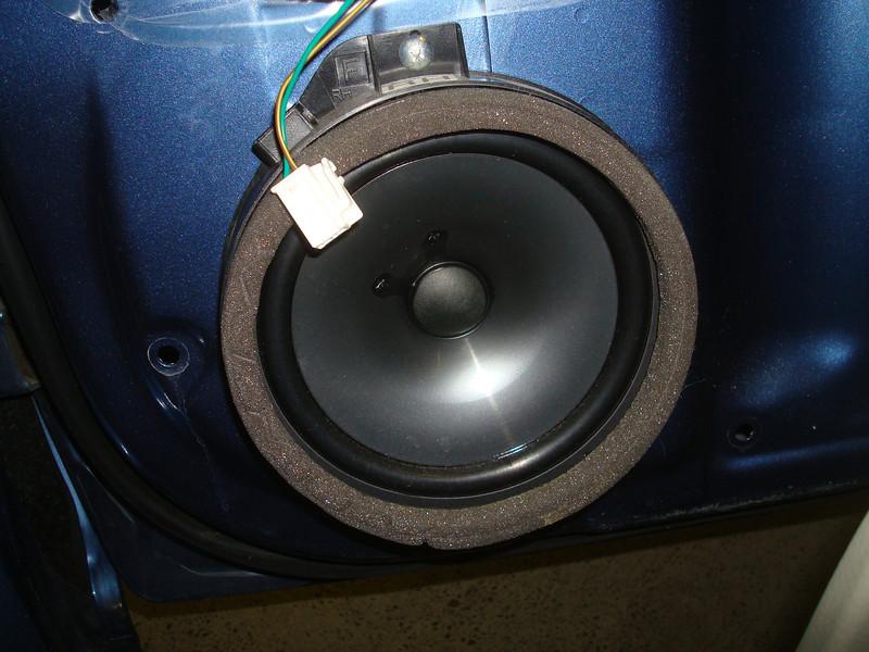 Front factory speaker