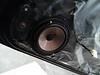 "Aftermarket speaker and  speaker adapter bracket  from  <a href=""http://www.car-speaker-adapters.com/items.php?id=SAK065""> Car-Speaker-Adapters.com</a>  mounted to door"