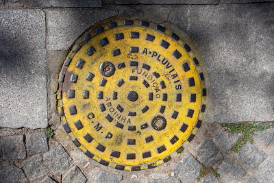 sewer in yellow