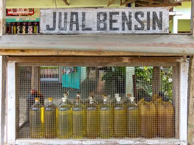 jual bensin - gas station