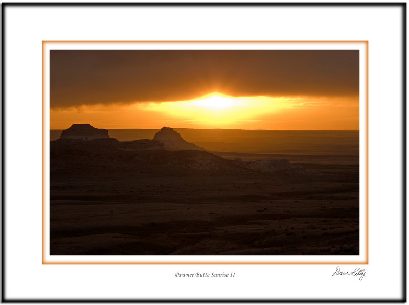 Pawnee butte sunrise II