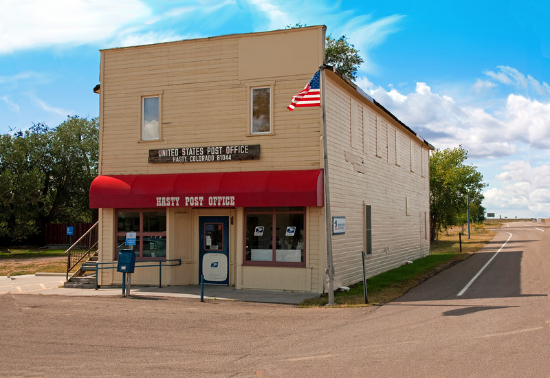 Prairie Town Post Office