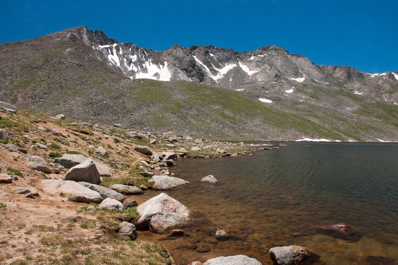 Summit Lake at Mt Evans