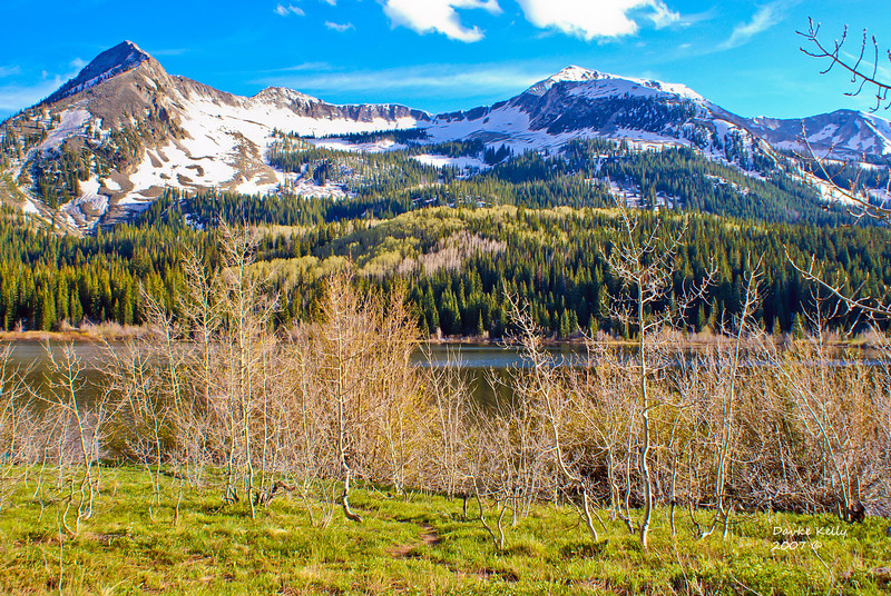 Early Spring at East Beckwith Peak