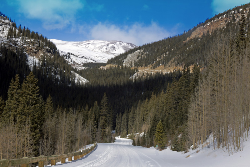 South Side of  Guanella Pass