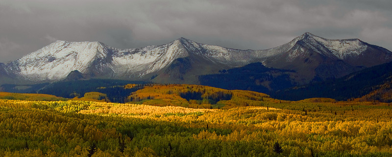 Fall Storms On Kebler Pass